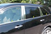 Acura MDX 2007-2013 - Молдинги хромированные стекол, к-т 6 шт (USA) фото, цена