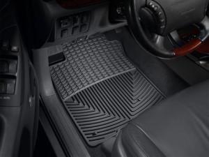 Toyota Land Cruiser Prado 2003-2012 - Коврики резиновые, передние, черные. (WeatherTech) фото, цена