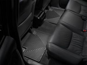 Toyota Land Cruiser Prado 2003-2017 - Коврики резиновые, задние, черные. (WeatherTech) фото, цена