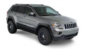Jeep Grand Cherokee 2011-2015 - Расширители колесных арок к-т 4 шт. (Bushwacker) Pocket Style. фото, цена