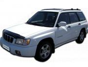 Subaru Forester 2000-2002 - Дефлектор капота (мухобойка), VIP Tuning фото, цена