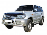 Toyota Land Cruiser Prado 1996-2002 - Дефлектор капота (мухобойка), VIP Tuning фото, цена