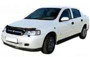 Chevrolet Viva 2004-2012 - Дефлектор капота (мухобойка), VIP Tuning фото, цена