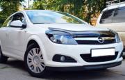 Opel Astra H 2004-2010 - Дефлектор капота (мухобойка), VIP Tuning фото, цена