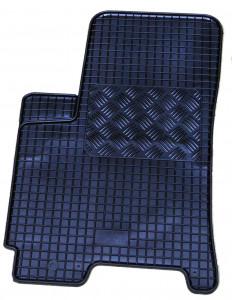 Chevrolet Lacetti 2004-2012 - Коврики резиновые, черные, комплект 4 штуки. (Rigum) фото, цена