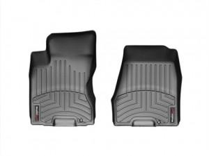 Nissan X-Trail 2007-2013 - Коврики резиновые с бортиком, передние, черные. (WeatherTech) фото, цена