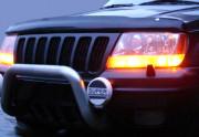 Jeep Grand Cherokee 1993-1998 - Дефлектор капота (мухобойка), VIP Tuning фото, цена