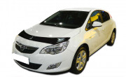 Opel Astra J 2009-2012 - Дефлектор капота (мухобойка), VIP Tuning фото, цена