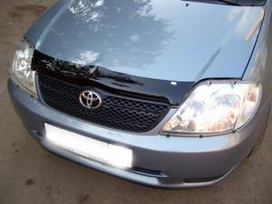 Toyota Corolla 1999-2001 - Дефлектор капота (мухобойка). VIP Tuning фото, цена