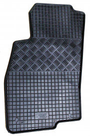 Fiat Punto 2006-2013 - Коврики резиновые, черные, комплект 4 штуки, Rigum фото, цена