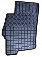 Fiat Linea 2007-2013 - Коврики резиновые, черные, комплект 4 штуки, Rigum фото, цена