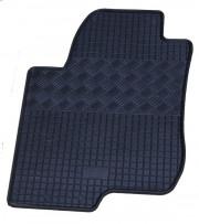 Kia Ceed 2006-2012 - Коврики резиновые, черные, комплект 4 штуки, Rigum фото, цена