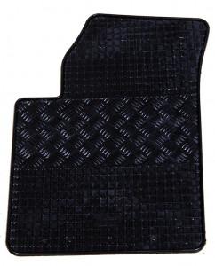 Kia Picanto 2004-2010 - Коврики резиновые, черные, комплект 4 штуки. (Rigum) фото, цена