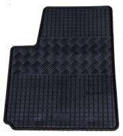 Kia Picanto 2011-2014 - Коврики резиновые, черные, комплект 4 штуки, Rigum фото, цена