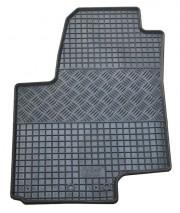 Kia Venga 2009-2012 - Коврики резиновые, черные, комплект 4 штуки, Rigum фото, цена