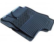 Seat Toledo 2012-2014 - Коврики резиновые, черные, комплект 4 штуки. (Rigum) фото, цена