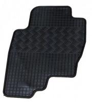 Nissan Pathfinder 2005-2012 - Коврики резиновые, черные, комплект 4 штуки. (Rigum) фото, цена