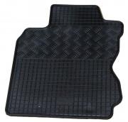 Nissan Note 2005-2011 - Коврики резиновые, черные, комплект 4 штуки. (Rigum) фото, цена