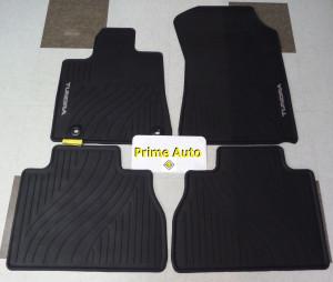 Toyota Tundra 2012-2013 - Коврики резиновые, черные, комплект 4 штуки. (Toyota) фото, цена