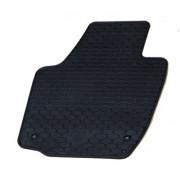 Skoda Rapid 2012-2014 - Коврики резиновые, темно-серые, комплект 4 штуки. (Doma) фото, цена