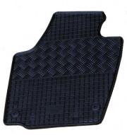 Skoda Rapid 2012-2014 - Коврики резиновые, черные, комплект 4 штуки. (Rigum) фото, цена