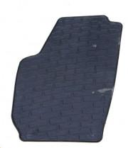 Skoda Roomster 2006-2014 - Коврики резиновые, темно-серые, комплект 4 штуки. (Doma) фото, цена