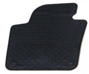 Volkswagen Sharan 2010-2014 - Коврики резиновые, темно-серые, комплект 4 штуки. (Doma) фото, цена