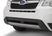 Subaru Forester 2013-2016 - Декоративная накладка на передний бампер. (Subaru) фото, цена