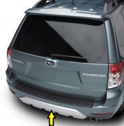 Subaru Forester 2013-2016 - Декоративная накладка на задний бампер. (Subaru) фото, цена