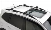 Subaru Forester 2013-2016 - Поперечины к продольным рейлингам, круглые, комплект 2 штуки. (Subaru) фото, цена