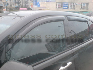 Acura MDX 2007-2012 - Дефлекторы окон (ветровики), комлект 4 штуки. (AVS) фото, цена