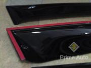 Subaru XV 2011-2016 - Дефлекторы окон, комплект 4 штуки, темные, (CT) фото, цена