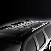 Cadillac Escalade 2007-2013 - Поперечины под рейлинги к-т 2 шт. (Цвет: черный/хром). фото, цена