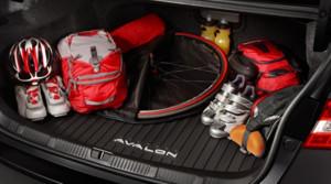 Toyota Avalon 2013-2016 - Коврик резиновый в багажник, черный. (Toyota) фото, цена