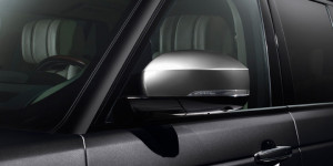 Land Rover Range Rover 2013-2014 - Накладки на зеркала, комплект 2 штуки. (Land Rover) фото, цена