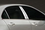Acura RL 2005-2010 - Накладки на стойки хромированные, комплект 6 штук. (SES) фото, цена