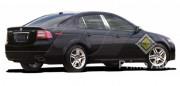 Acura TL 2004-2008 - Накладки на стойки хромированные, комплект 6 штук. (SES) фото, цена