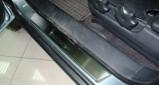 Накладка пластиковая под радиатор туксон