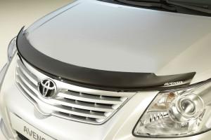 Toyota Avensis 2009-2014 - Дефлектор капота (мухобойка),  Toyota фото, цена