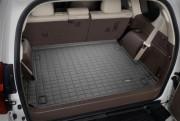 Toyota Land Cruiser Prado 2009-2017 - (7 мест) Коврик резиновый в багажник, черный. (WeatherTech) фото, цена