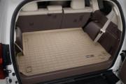 Toyota Land Cruiser Prado 2009-2017 - (7 мест) Коврик резиновый в багажник, бежевый. (WeatherTech) фото, цена