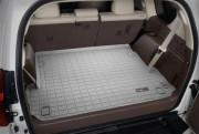 Toyota Land Cruiser Prado 2009-2017 - (7 мест) Коврик резиновый в багажник, серый. (WeatherTech) фото, цена