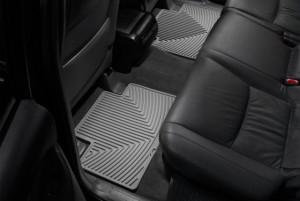 Toyota Land Cruiser Prado 2003-2021 - Коврики резиновые, задние, серые. (WeatherTech) фото, цена