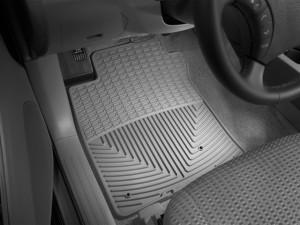 Toyota Land Cruiser Prado 2003-2012 - Коврики резиновые, передние, серые. (WeatherTech) фото, цена