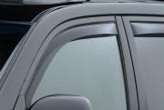Toyota Land Cruiser Prado 2003-2008 - Дефлекторы окон (ветровики), передние, темные. (WeatherTech) фото, цена