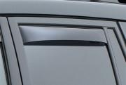 Toyota Land Cruiser Prado 2003-2008 - Дефлекторы окон (ветровики), задние, темные. (WeatherTech) фото, цена