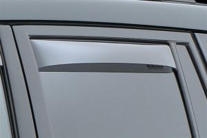 Toyota Land Cruiser Prado 2003-2008 - Дефлекторы окон (ветровики), задние, светлые. (WeatherTech) фото, цена