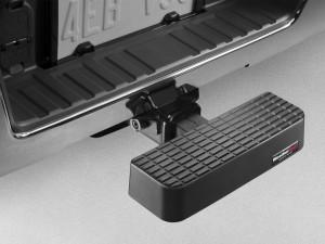 Универсальные товары 1986-2014 - Ступенька в фаркоп, композит, черная. (WeatherTech) фото, цена