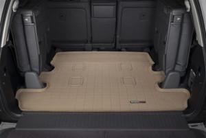 Lexus LX 2008-2019 - Коврик резиновый в багажник, бежевый. (WeatherTech) 7 мест фото, цена