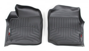 Lexus LX 1998-2007 - Коврики резиновые с бортиком, передние, черные. (WeatherTech) фото, цена